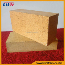 Withstand high temperature fireproof refractory standard size fire clay kiln firebrick for cement kiln
