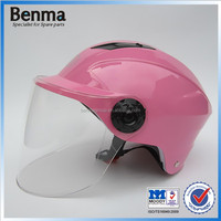 female beautiful scooter half helmet