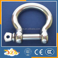 SIZE 45MM stainless steel 304 european BOW shape shackle lifting shackle