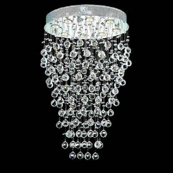 Modern cafe decorative hanging crystal lamp cristal ceiling light
