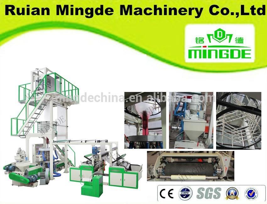 Mingde Six Color Flexo Printing Machine,plastic bag printing machine price ,plastic bag printing machine