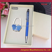 European Business Gift, Touch Ball Pen Folding Women's Bag Decorative Hanger, business gift 2015