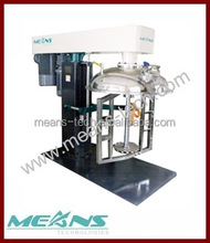 Double shaft Mixer( Hydraulic lifting) for Rubber coating