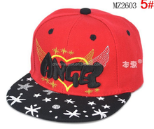 MZ2603 Professional Manufacture Custom Fashion With Angle Logol kids Baseball Hats 2015