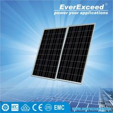 EverExceed 75W Polycrystalline 156*156 Solar Panel for solar street light system with intelligent controller