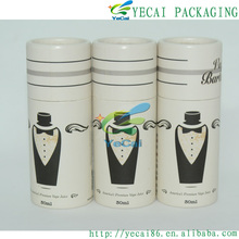 Professional top quality kraft paper tube with printing/logo/label with CE certificate