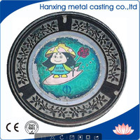 Cable Protection Manhole Cover EN124 c250