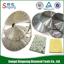 Sharpness 400mm fan type segmented blade marble cutter blade