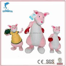 Disney audited manufacturer pink kangaroo stuffed animals toys