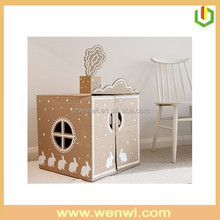 cardboard box house designs