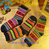 Unisex Cotton/Nylon Air Cushion Foot Classical Design OEM Socks Factory