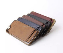 New Arrival Leather Case Cover for iPhone 6 4.7 inch with Kickstand and Photo Album