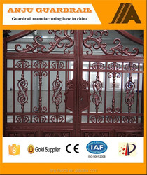 High quality durable and beautiful main gate design for home AJLY-611