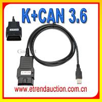 Wholesale Vag 3.6 OBD2 K+Can Commander For Audi For VW ACTIVATOR VAG Diagnostic Cable