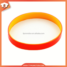 Volume supply custom light silicone wristband for event