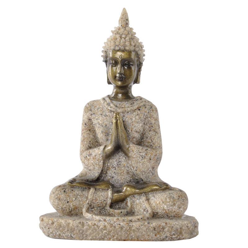 Cheap Resin Crafts Home Decor Thailand Buddha Statue 12138