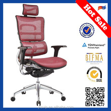 JNS-802 red color most comfortable executive high back best type of office chair