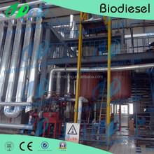 High conversion biodiesel processing system for Jatropha curcas seeds to biodiesel
