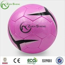 Zhensheng Hand Sewn PU Match Soccer Balls Hand Stitched