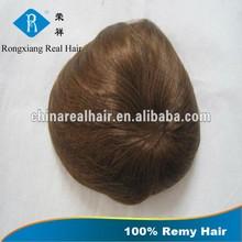 Hot China Supplier Top Grade Long Lasting Soft Remy men human hair wig
