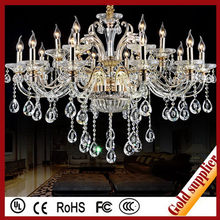 Contemporary hot sale colored glass chandelier
