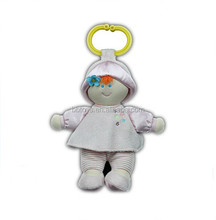 Top quality soft plush dolls, plush baby doll