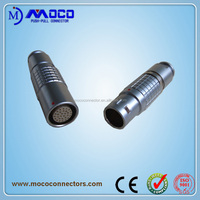 M7 M9 M12 M15 M18 2 pin 26 pin metal quick plug socket connector