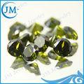 jm 7mm ronda de oliva piedras preciosas cz
