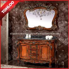2014 Oak Solid Bathroom Cabinet Antique