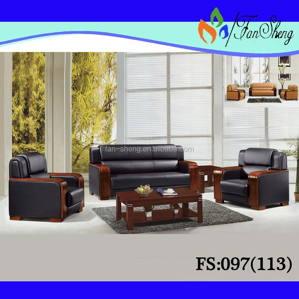 Modern sofa set for living room sofa fs097 113 buy for Modern living room sets