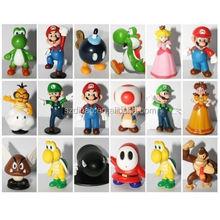 "DIHAO Super Mario Bros Figure Toy 18pcs Doll 1-3"" Action Figure by DIHAO"