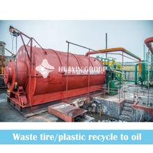waste plastic from reycling waste paper mill to fuel oil pyrolysis machine