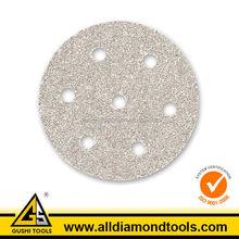 Round Abrasive Metal Grinding Hook and Loop Sanding Discs
