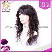 Final Fantasy Cheap Indian Remy Hand Knit Human Hair Afro Kinky 5a Lace Wig