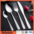 cubertería de acero inoxidable 4 piezas cuchara y tenedor cuchillo de hotel de juegos de cubiertos