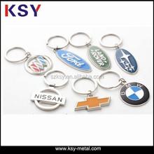 Cheap custom shaped metal keychain