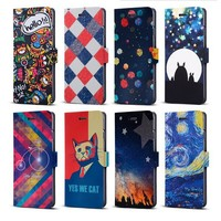 Professional Customize Wallet Flip Leather Case for Samsung Galaxy Core i8260 i8262
