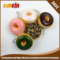 Simela high quality pu doughnut stress toys