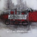 venta caliente de la decoración del hotel y la decoración del hotel famosas pinturas de arte abstracto