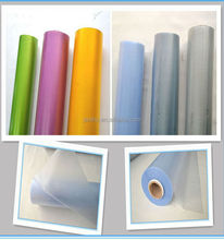 2015 China Jiangsu Supply PVC Translucent Color Plastic Film