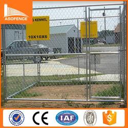 Heavy duty galvanized metal 10x10 dog kennels / cheap chain link 10x10 kennels dog fence