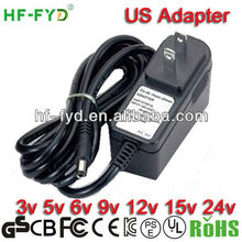 UL CE FCC ROHS approved tablet pc charger 9v 1.5a 5v 6v 9v 12v 15v 24v 36v 48v 1a 1.5a 2a 2.5a 3a tablet pc charger