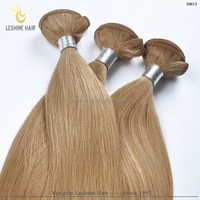 Private Label Wholesale Price No Shedding No Tangle No Dry 100% Human Hair honey brown hair