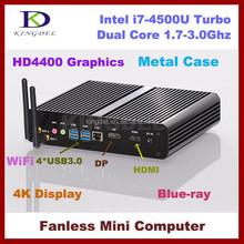 i7 gaming desktop mini pc windows embedded,dual core 3.0Ghz,HD4400 Graphics