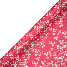 Floral Decorative Types of Gift Wrapping Paper Roll, Roll Wrap