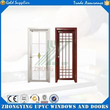 Guangdong manufactory provide plastic louver door and swing