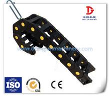 Plastic drag chain cable carrier (Inside diameter 25*25)