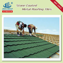 alu-zinc steel material and stone roof shingles type colorful asphalt shingles roof tile for sales