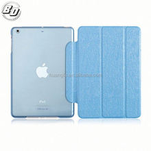 Luxury Stand Back PC + Leather Smart Cover Case for iPad Air Hard Back Cover Case