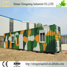 earthquake resistant Modified ecofriendly container inside